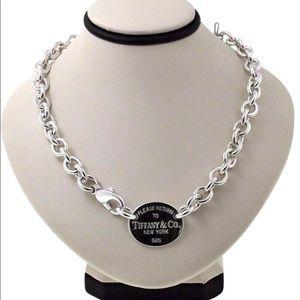 Tiffany & Co. Oval Necklace